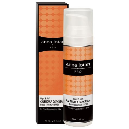 Anna Lotan PRO Light & Soft Calendula Day Cream Календула дневной крем UVA/UVB SPF 30 (15 ml) 026T