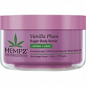 "HEMPZ Скраб для тела ""Ваниль и слива"" / Vanilla Plum Herbal Sugar Body Scrub 176гр 110-2138-03"