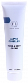 Holy Land Alpha Complex Hand and Body Cream Крем для рук и тела 100 мл 110514