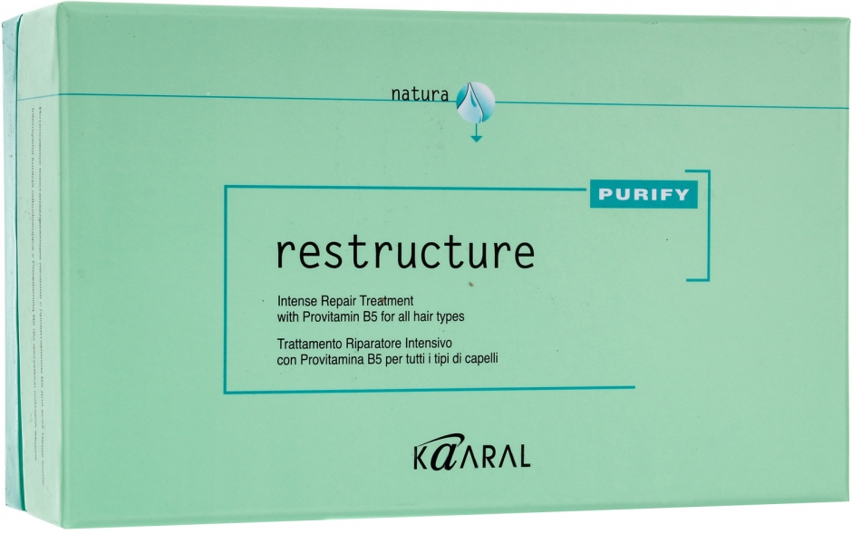 Kaaral Purify Restructure Intense Repair Treatment Восстанавливающий лосьон (12 x 10 ml) 1223