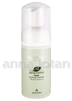 Anna Lotan. Очищающая пенка «Барбадос» (Foam Purifying Cleanser) 125 мл. 129