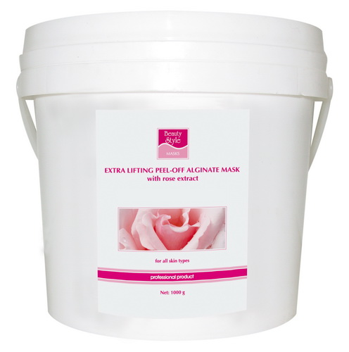 Beauty Style Peel Off Rose Extract Collagen Mask Альгинатная коллагеновая маска с экстрактом розы (1 kg) 4503206