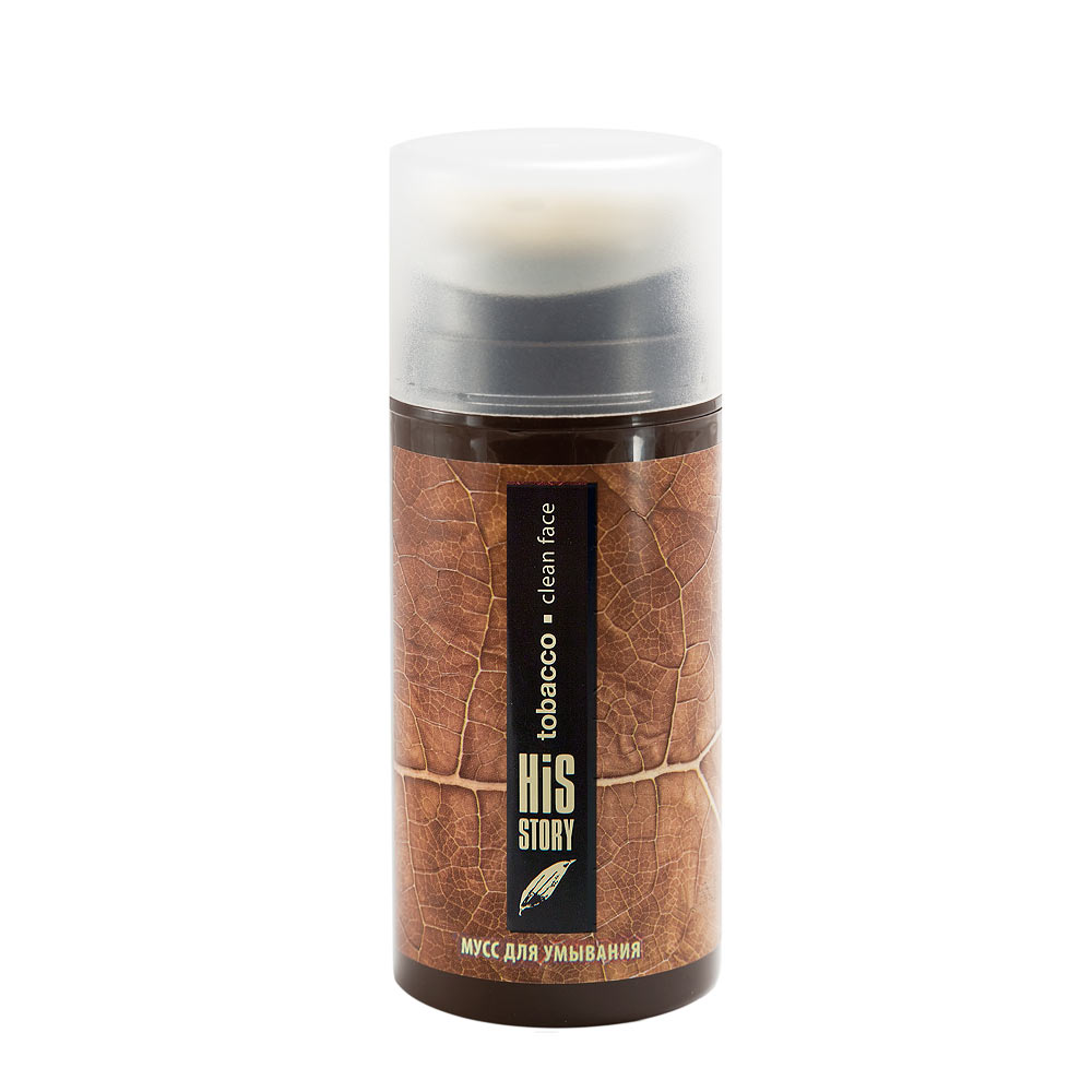 Premium His Story Tobacco Мусс для умывания Clean Face (100 ml) ГП030016