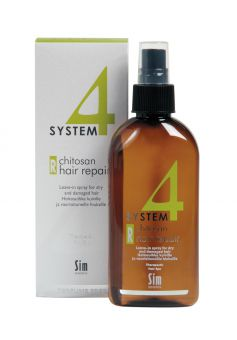 System4 Chitosan Hair Spray R Терапевтический спрей для слабых и повреждённых волос (200 ml)
