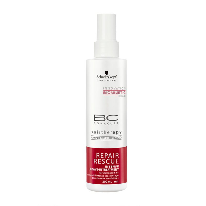 Schwarzkopf Professional BC Bonacure Repair Rescue Intense leave-In Treatment Маска-спрей восстанавливающая (200 ml)