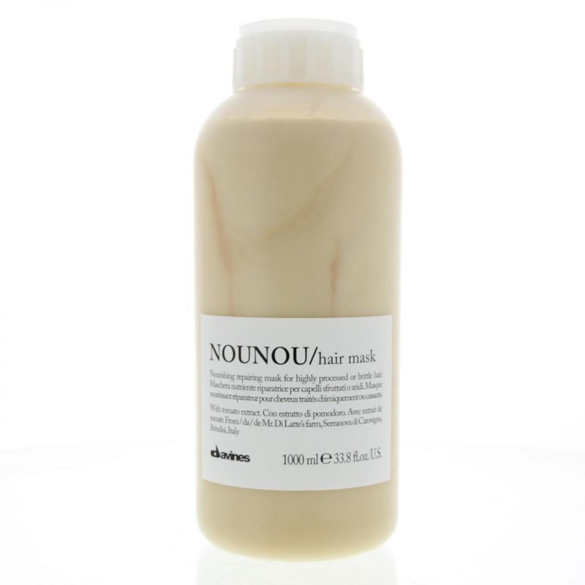 DAVINES NOUNOU/hair mask - Интенсивная восстанавливающая маска для глубокого питания волос 1000мл. 75009