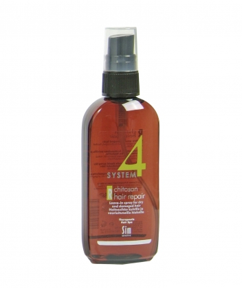 System4 Chitosan Hair Spray R Терапевтический спрей для слабых и повреждённых волос (100 ml)