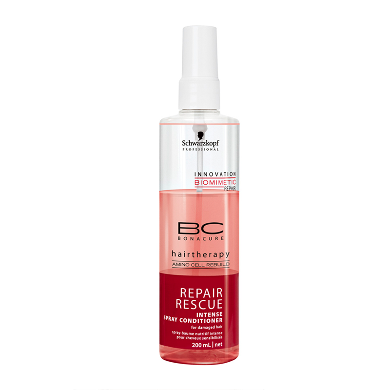 "Schwarzkopf Professional BC Bonacure Repair Rescue Spray Conditioner Кондиционер-спрей ""Спасительное восстановление"" (200 ml)"