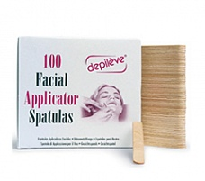 Depileve Facial Applicator Spatulas Шпатели для лица (100 шт) 1208009