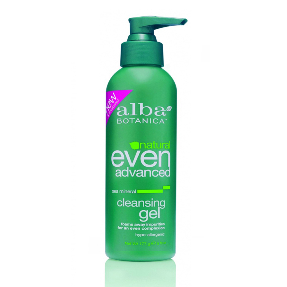 Alba Botanica Natural Even Advanced Sea Mineral Cleansing Gel Морской гель для очищения лица (177 ml) AL00327
