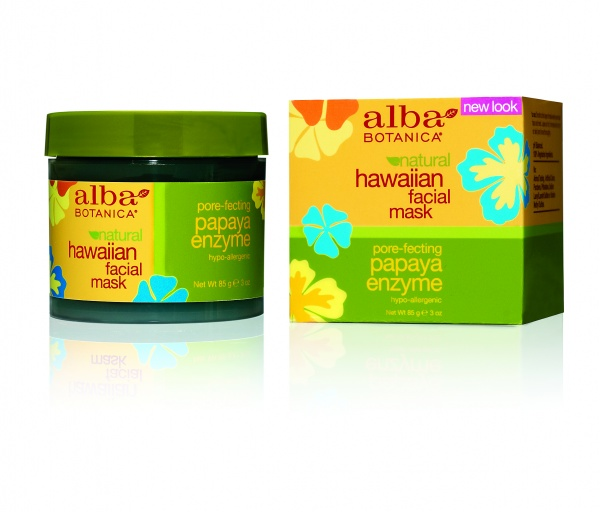 Alba Botanica Hawaiian Papaya Enzyme Facial Mask Энзимная маска для лица Папайя (85 g) AL00810