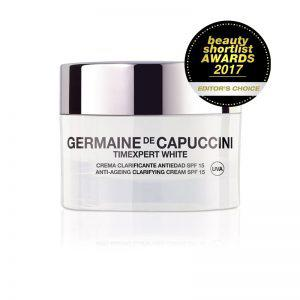 Germaine de Capuccini TIMEXPERT WHITE Крем для коррекции пигментных пятен SPF-20 (ANTI-AGEING CLARIFYING CREAM SPF15 50 ml). 81082
