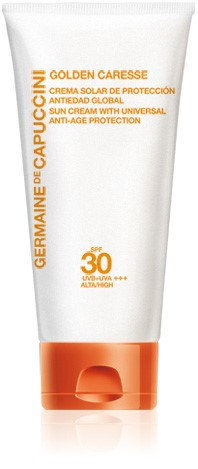 Germaine de Capuccini GOLDEN CARESSE Антивозрастной крем SPF30 (SUN CREAM WITH UNIVERSAL ANTI-AGE PROTECTION SPF30 50 ml). 81369