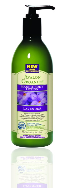 Avalon Organics Hand & Body Lotion LAVENDER Лосьон с лавандой (340 g) AV35200