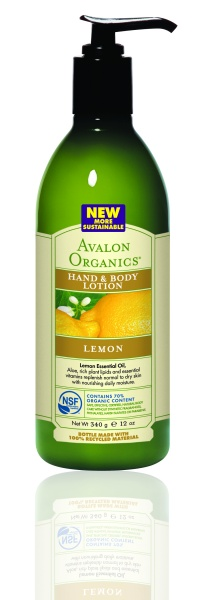 Avalon Organics Hand & Body Lotion LEMON Лосьон с лимоном (340 g) AV35205