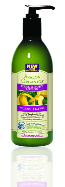 Avalon Organics Hand & Body Lotion YLANG YLANG Лосьон с иланг-иланг (340 g) AV35215