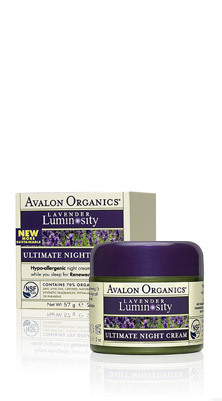 Avalon Organics Ultimate Night Cream Ночной восстанавливающий крем (57 g) AV35315