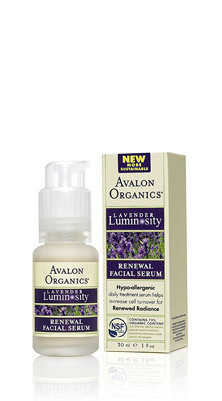 Avalon Organics Renewal Facial Serum Обновляющая восстанавливающая сыворотка для кожи лица (30 ml) AV35317