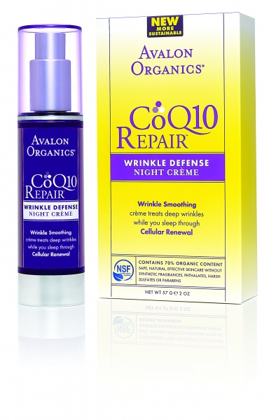 Avalon Organics Wrinkle Defense Night Creme CoQ10 Ночной крем с CoQ10 (50 ml) AV35804
