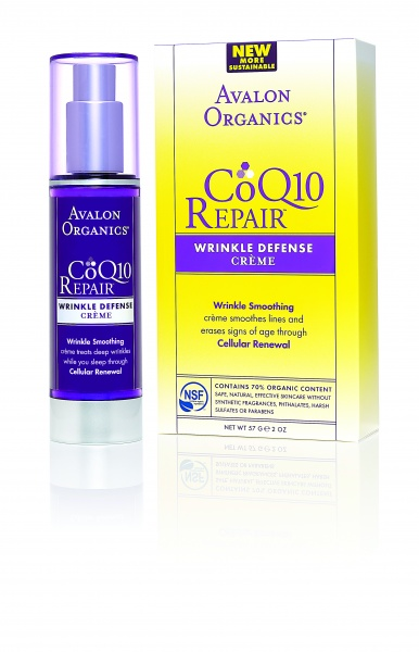 Avalon Organics Wrinkle Defense Creme CoQ10 Крем дневной с СоQ10 (50 ml) AV35805
