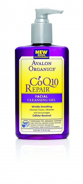 Avalon Organics Facial Cleansing Gel CoQ10 Очищающий гель с CoQ10 (250 ml) AV35808
