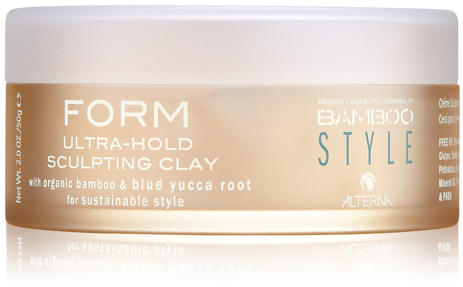 Alterna Bamboo Style Form Ultra-Hold Sculpting Clay Глина для объёма и текстуры (50 г)