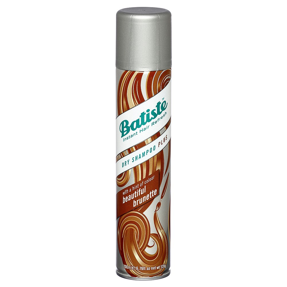 Batiste Dry Shampoo Plus Beautiful Brunette Шампунь сухой / Medium 200 ml 527474