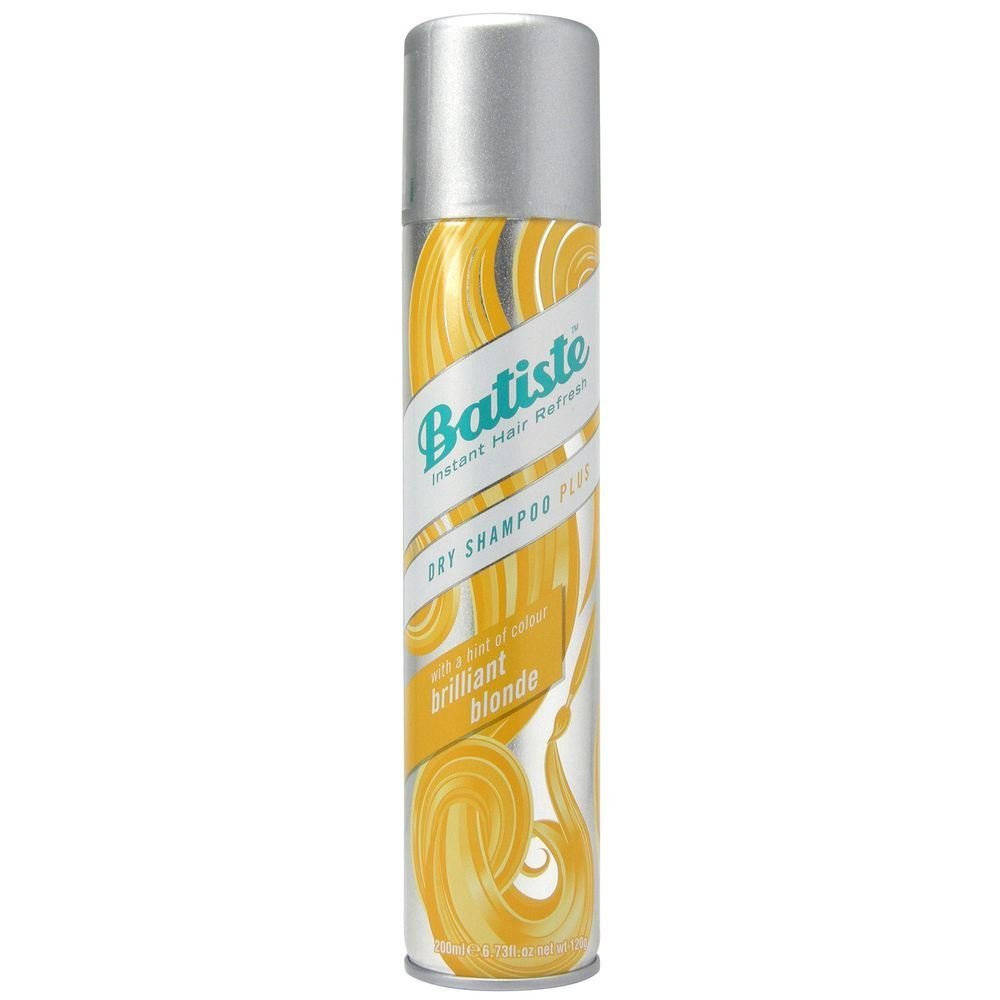 Batiste Dry Shampoo Plus Brilliant Blonde Шампунь сухой / Light 200 ml 527467