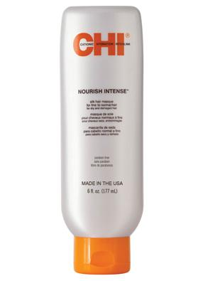 CHI Nourish Intense Silk Hair Masque For Fine to Normal Hair For Dry And Damaged Hair Маска для нормальных и тонких волос (177 ml) CHI6410
