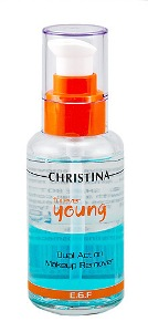 CHRISTINA Forever Young Dual Action Make Up Remover Средство для снятия макияжа с кожи век 100 ml