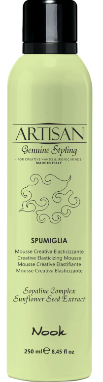 Nook Artisan Genuine Styling Creative Elasticizing Mousse Мусс для контроля локонов (250 ml) 1314