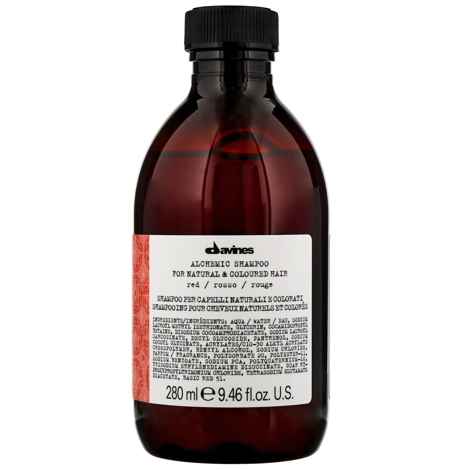 Davines Alchemic Red Shampoo Красный шампунь (280 ml) 67211