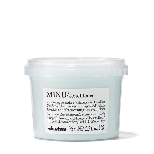 DAVINES MINU/conditioner - Защитный кондиционер для сохранения косметического цвета волос 75 мл