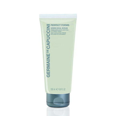 Germaine de Capuccini PERFECT FORMS Крем-эксфолиант с зеленым чаем и бамбуком (Green Soul Scrub Body Exfoliating Cream With Green Tea And Bamboo 200 ml). 81558