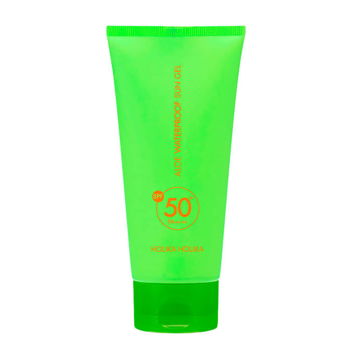 "HOLIKA HOLIKA Aloe Waterproof Sun Gel Гель солнцезащитный ""Алоэ"" SPF 50+ PA++++ (100 ml) 20011968"