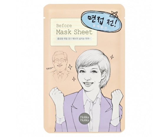 "HOLIKA HOLIKA Before Interview Mask Sheet Маска тканевая для лица ""Перед интервью"" 20013272"