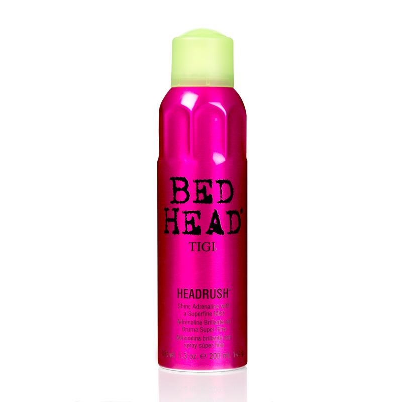 TIGI BED HEAD Styling Headrush Shine Adrenaline With A Superfine Mist Спрей для придания блеска (200 ml) 67172500