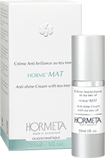 Hormeta. Anti-Shine cream with Tea Tree Oil / Крем против блеска с маслом чайного дерева, 30 мл. 13140