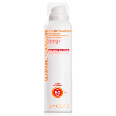 Germaine de Capuccini GOLDEN CARESSE Охлаждающая дымка SPF 50 (ICE FUSION COOLING SUN MIST SPF50 200 ml). 81375