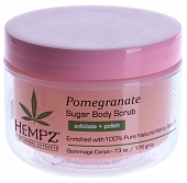 "HEMPZ Скраб для тела ""Сахар и гранат"" / Body Scrub Sugar & Pomegranate 176гр 676280015494"