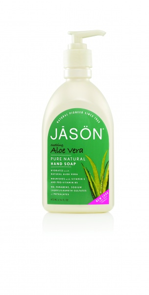 "JĀSÖN Pure Natural Hand Soap Soothing Aloe Vera Жидкое мыло для рук ""Алоэ Вера"" (473 ml) J02005"