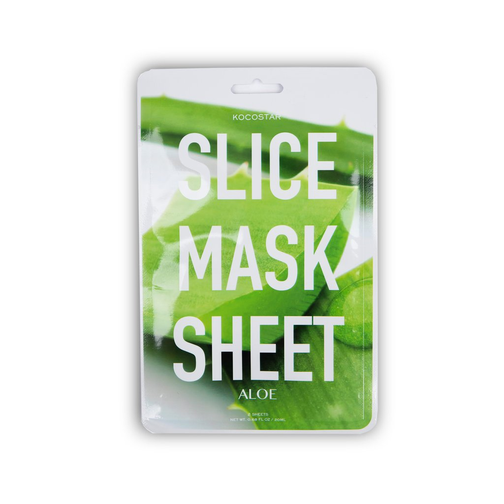 Kocostar Aloe Slice Mask Sheet Маска-слайс алоэ вера (20 ml) 20-0013