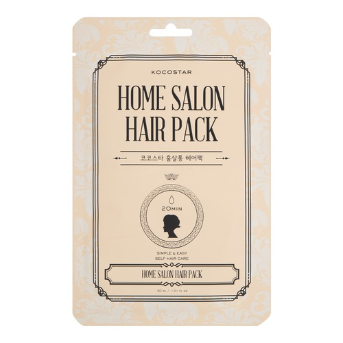Kocostar Home Salon Hair Pack Маска восстанавливающая для волос (30 ml) 20-0007