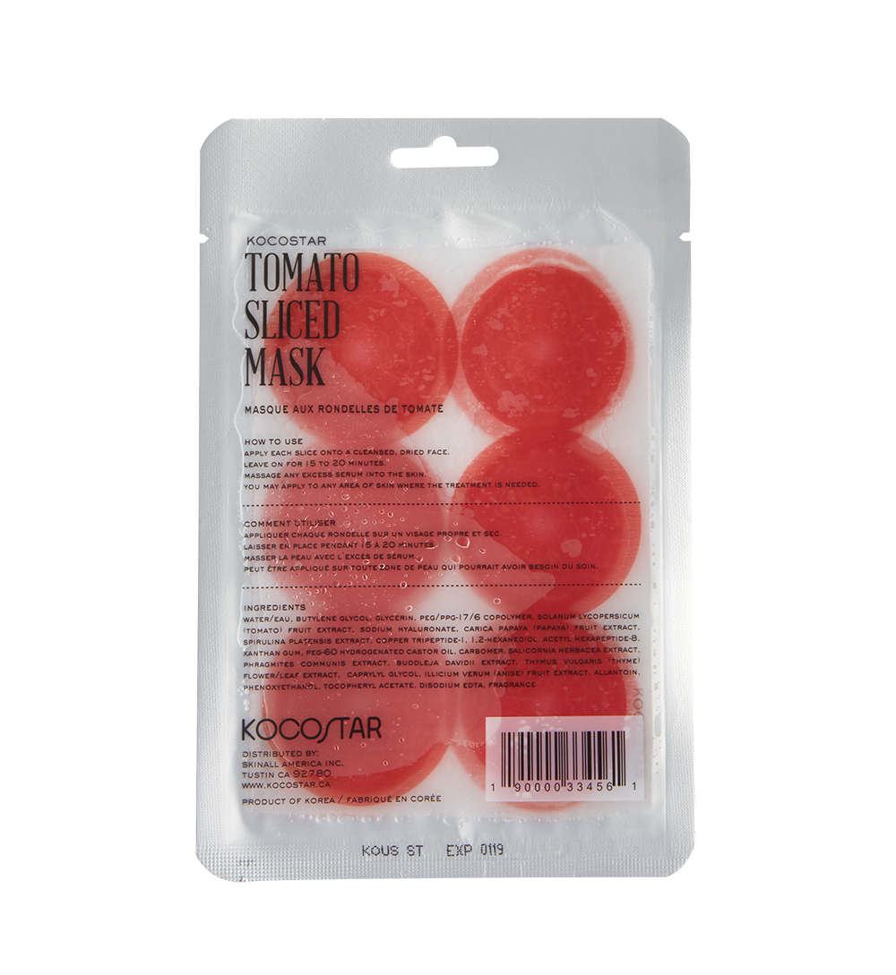 Kocostar Tomato Slice Mask Sheet Маска-слайс томат (20 ml) 20-0010