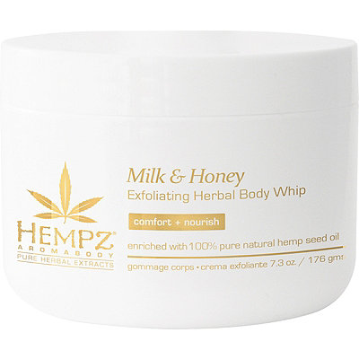 "HEMPZ Скраб для тела ""Молоко и мёд"" / Milk & Honey Exfoliating Herbal Body Whip 176гр 110-2353-03"