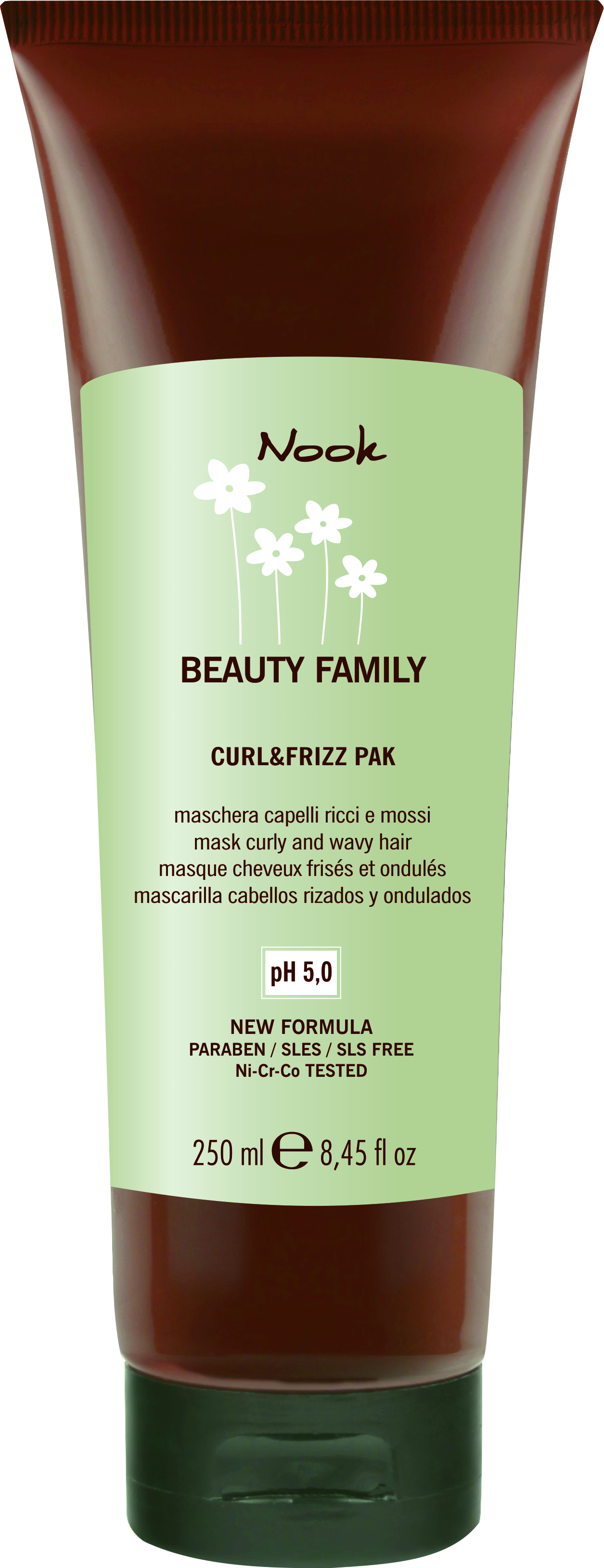 Nook Beauty Family Mask Curly And Wavy Hair Маска для кудрявых волос pH 5,0 (250 ml) 247