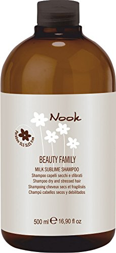 Nook Beauty Family Milk Sublime Shampoo Dry And Stressed Hair Шампунь для повреждённых волос Ph 5,5 (500 ml) 262
