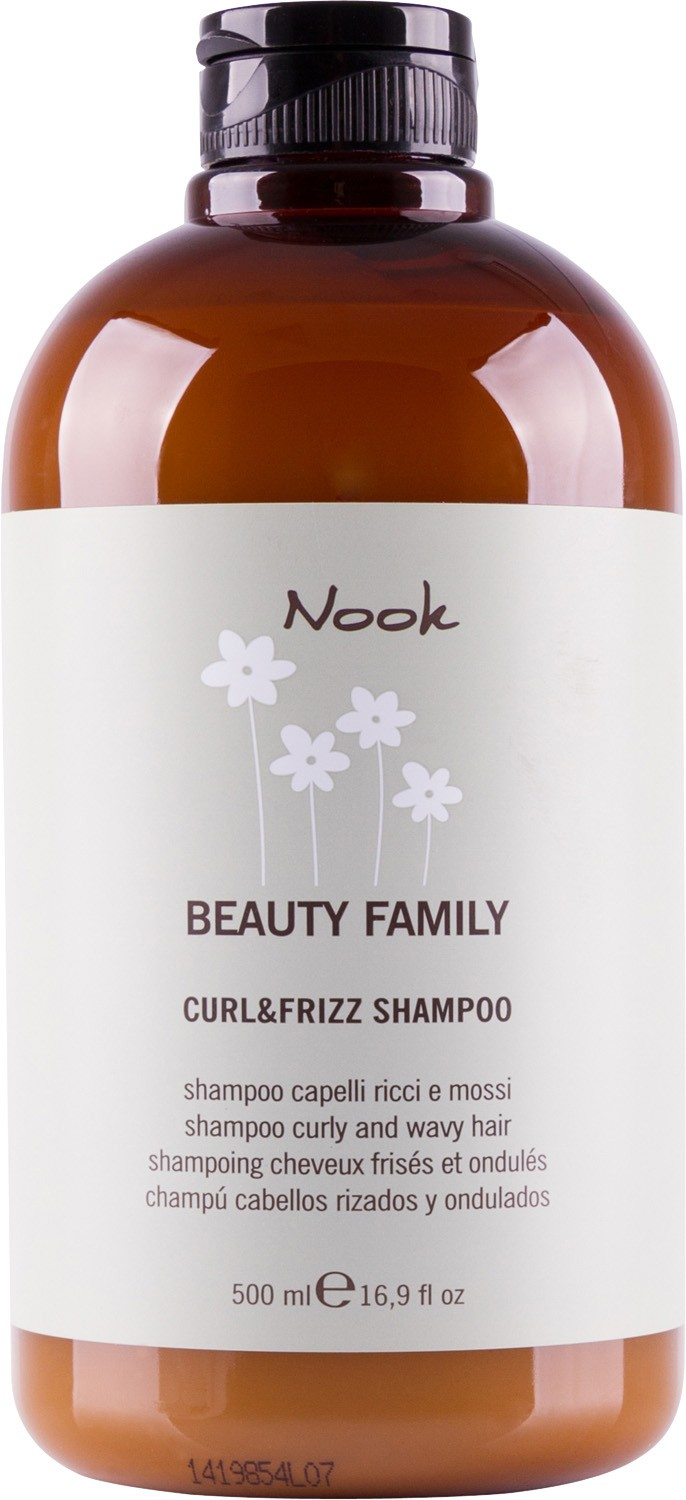 Nook Beauty Family Shampoo Curly And Wavy Hair Шампунь для кудрявых волос pH 5,5 (500 ml) 264