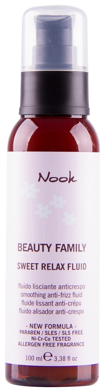 Nook Beauty Family Smoothing Anti-Frizz Fluid Флюид для непослушных волос pH 5,5 (50 ml) 256