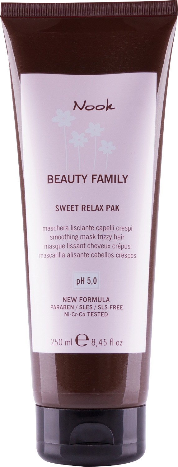 Nook Beauty Family Smoothing Mask Frizzy Hair Маска для непослушных волос pH 5,0 (250 ml) 246